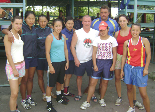 Девушки казахстана